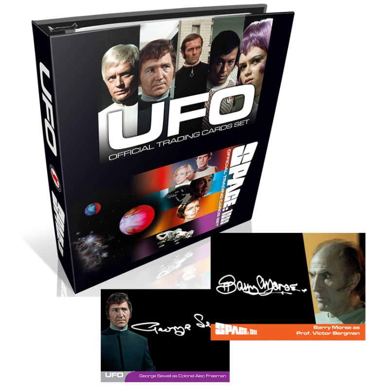 Space 1999 / UFO Series 2 Trading Cards BINDER