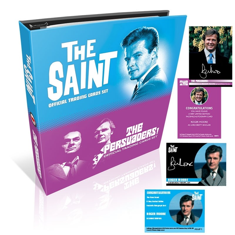The Persuaders & The Saint BINDER - with Black Velvet Autos