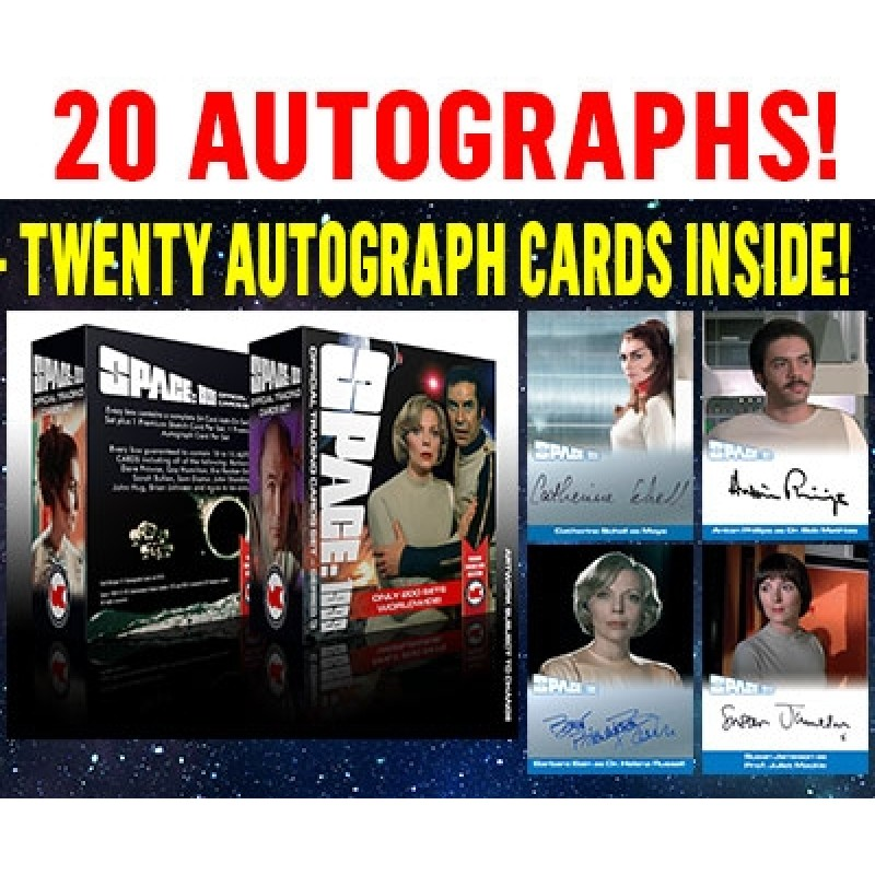 Space 1999 SERIES 3 ULTIMATE BOX of 20 Autographs