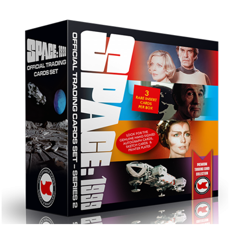 Space 1999 Trading Cards BOX Series 2 - 3 HITS