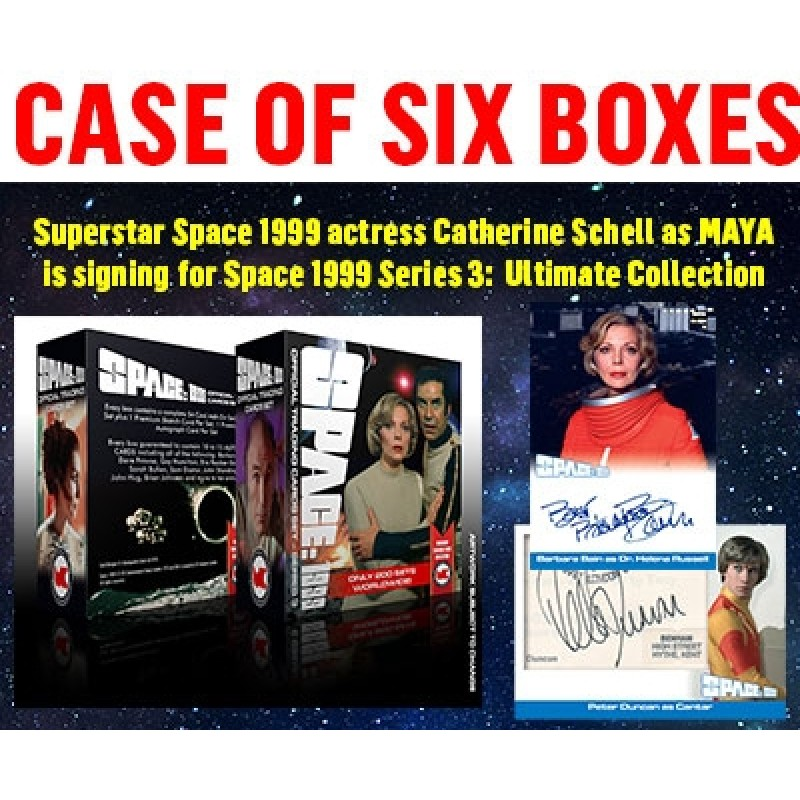 Space 1999 SERIES 3 ULTIMATE CASE of 6 BOXES