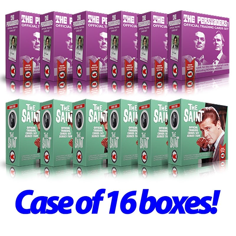 The Saint 2 & Persuaders CASE of 16 Boxes