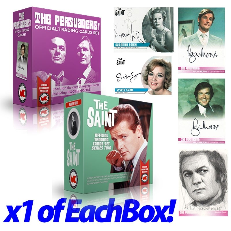 The Saint Series 2 & Persuaders DOUBLE BOX