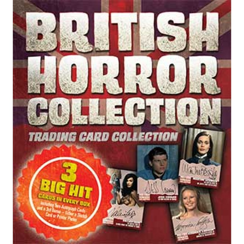 British Horror Collection TRIPLE x 3 BOX Trading Cards