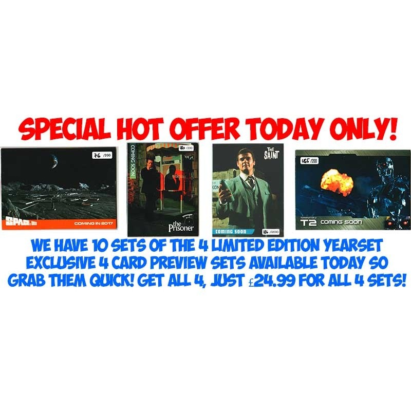 4 x HOT PREVIEW SETS OFFER FROM YEARSET 1/200 Edition