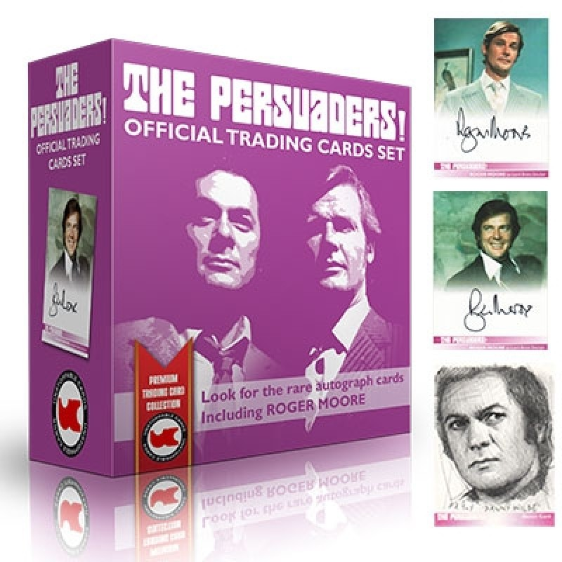 The Persuaders BOX Autograph Trading Cards
