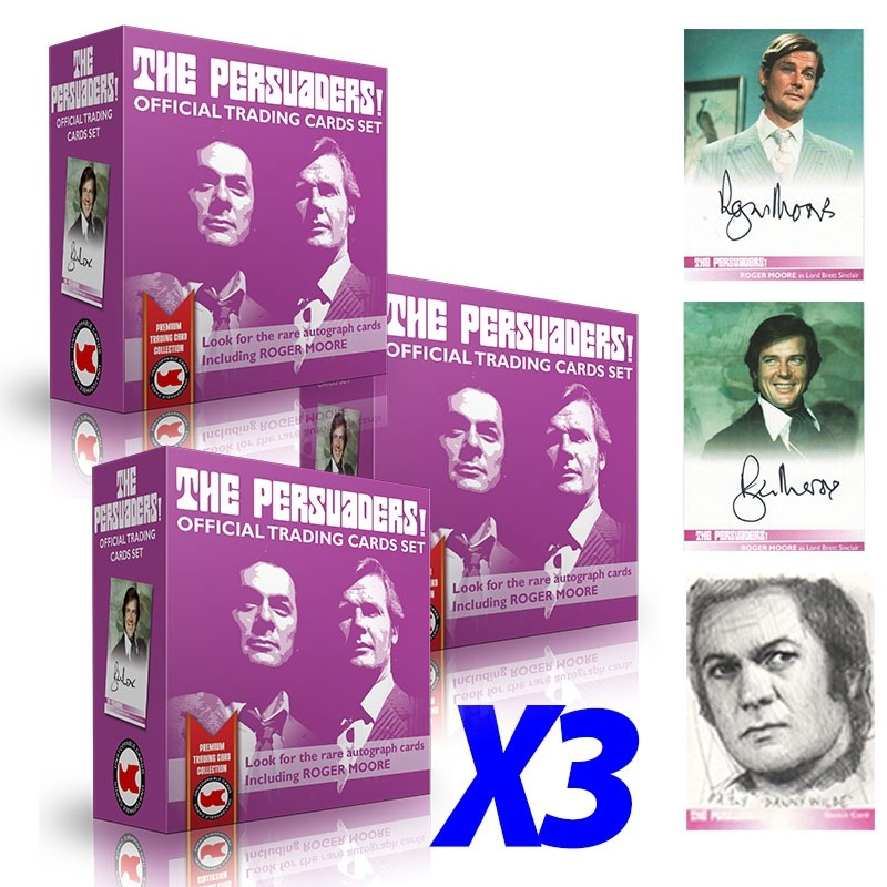 The Persuaders TRIPLE BOX Deal