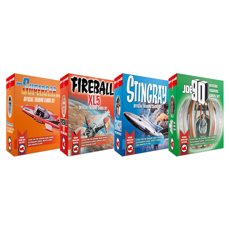 Gerry Anderson Collection CASE x 40 BOXES