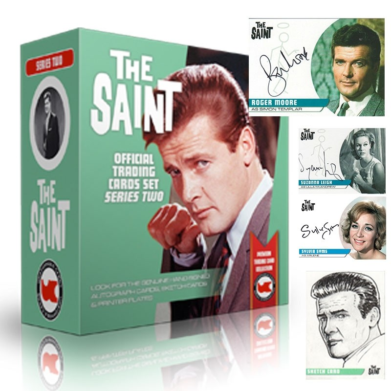 The Saint Series 2 Autograph Trading Cards