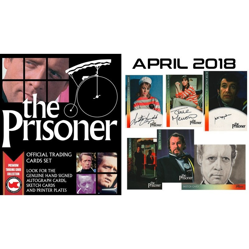 The Prisoner CASE of 10 Boxes plus Case Bonus