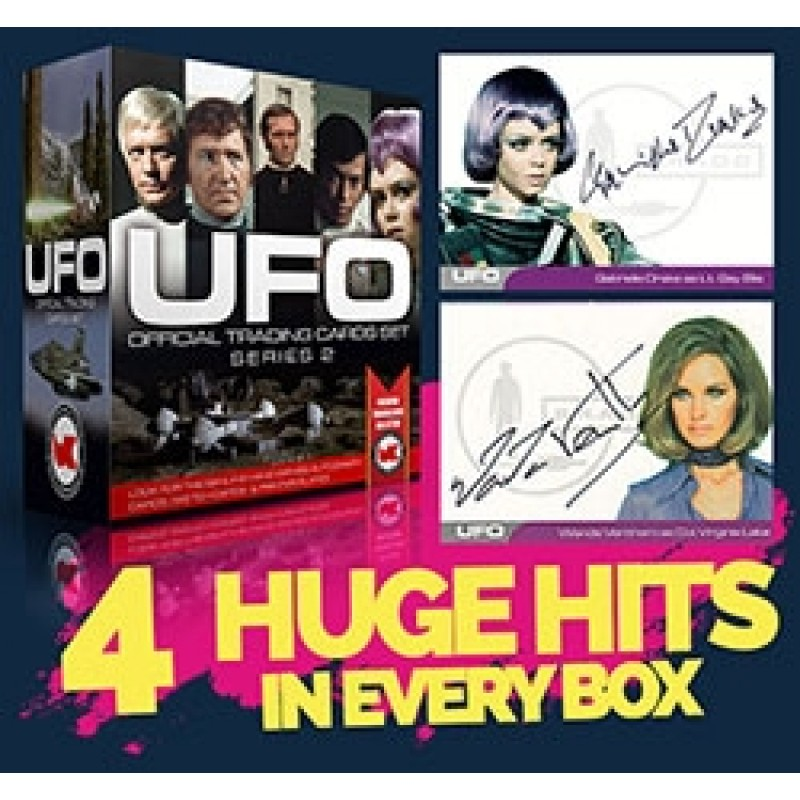 UFO Series 2 BOX Autograph Trading Cards