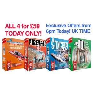 Gerry Anderson SPECIAL DEAL GET ALL FOUR FOR £59