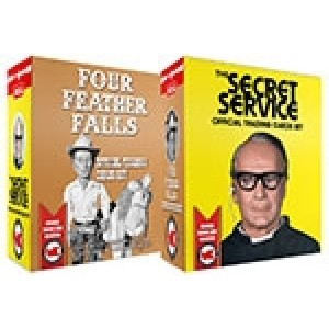 Four Feather Falls & The Secret Service Trading Cards BOX