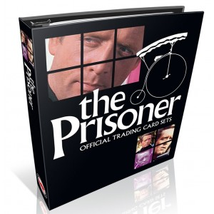 The Prisoner Collectors Trading Card BINDER