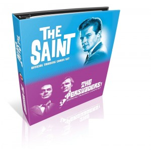 The Persuaders & The Saint BINDER - NO AUTOGRAPH CARD