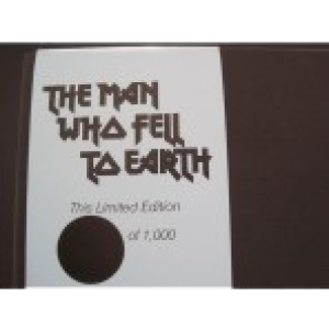 The Man Who Fell To Earth Book Imperfect 1/2 Price EDITION