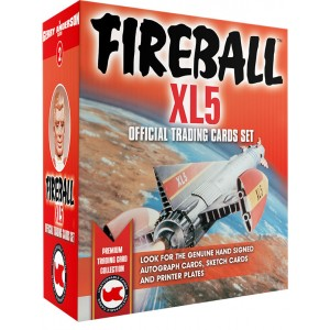 Fireball XL5 BOX (Autograph/Sketch) Limited Edition