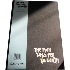 The Man Who Fell To Earth Book AUTHOR SIGNED 1/20 LIMITED EDITION