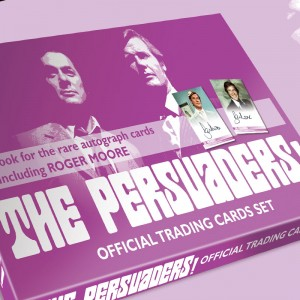 The Persuaders Official Trading Cards BOX