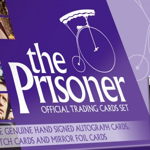 The Prisoner Official Trading Cards BOX