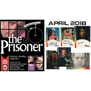 The Prisoner Trading Cards BOX - 3 Hits Per Box!