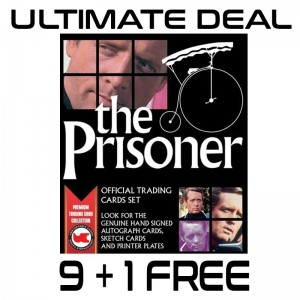The Prisoner 3x3 + 1 CASE/BOX ULTIMATE OFFER